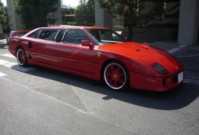 Replica Ferrari F40 limuzina