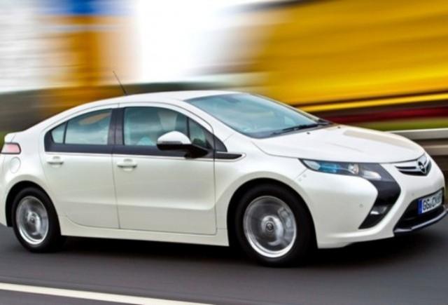 Opel Ampera va primi un comutator special