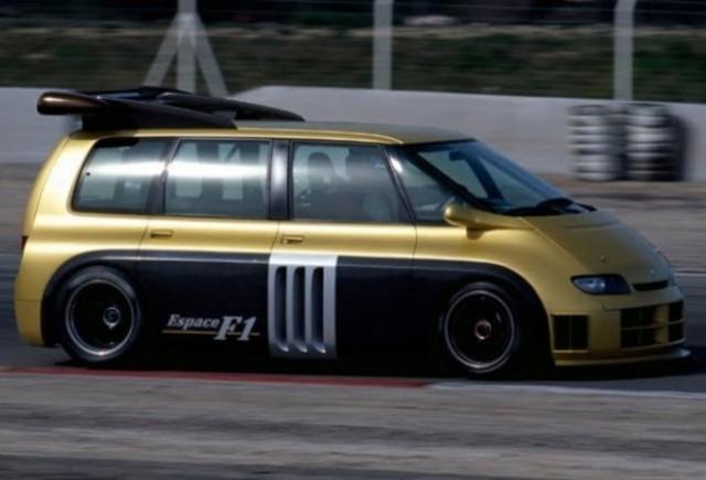Istorie Auto: Renault Espace F1, regele MPV-urilor