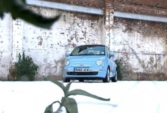 VIDEO: Noul Fiat 500 TwinAir in actiune!