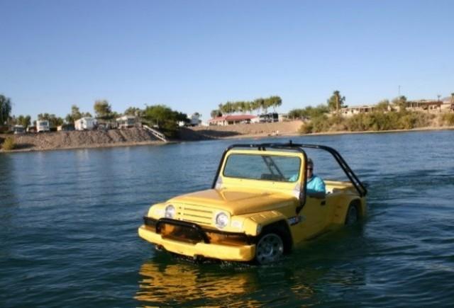 WaterCar Gator: Prima masina amfibie accesibila