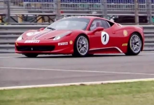 VIDEO: Ferrari prezinta noul 458 Challenge