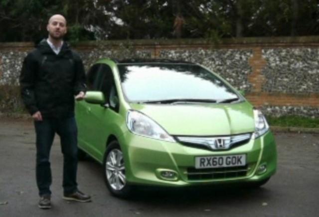 VIDEO: AutoExpress testeaza noul Honda Jazz hibrid