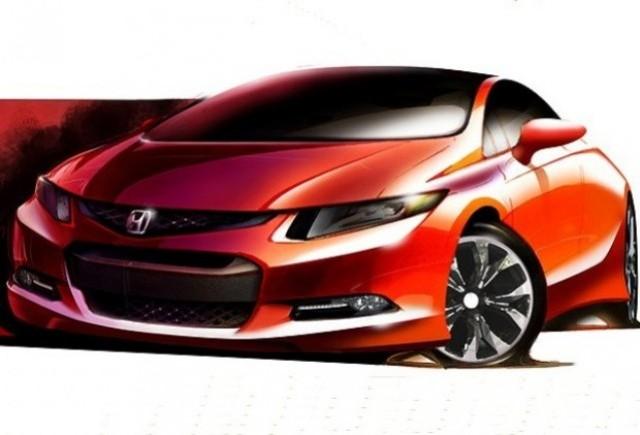 Iata prima schita cu noul Honda Civic!
