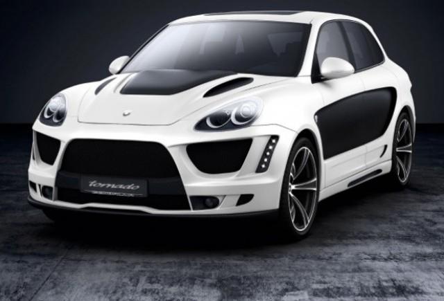 Porsche Cayenne tunat de Gemballa