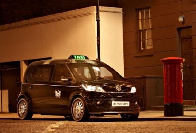 Volkswagen EV Taxi, un taxi londonez cu emisii zero