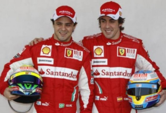 Ferrari: Alonso si Massa vor pleca de pe pozitii egale