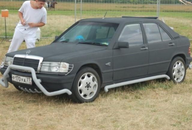 Iata primul Mercedes 190E crossover!