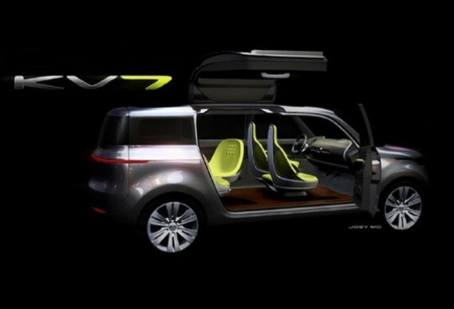 Noul Kia KV7 Crossover Concept vine la Detroit Motor Show