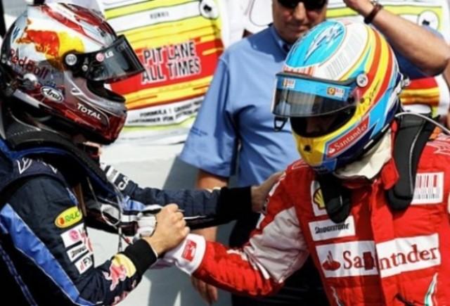 Alonso: Nu ma tem de Vettel