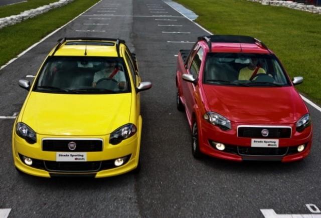 Fiat lanseaza modelul Strada Sporting
