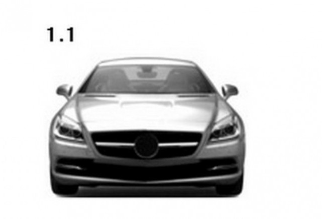 Mercedes a patentat designul noului SLK