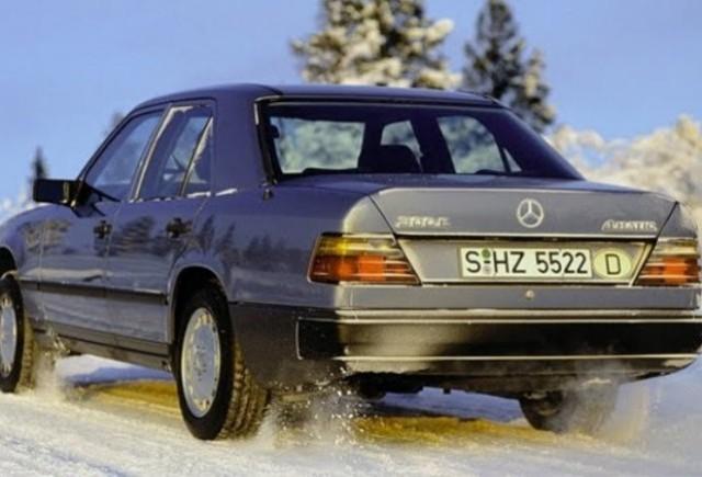 Mercedes aniverseaza 26 de ani de 4Matic