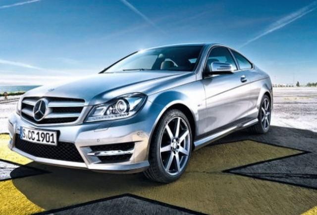 Primele imagini cu Mercedes C-Klasse Coupe
