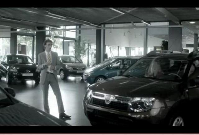 VIDEO: Dacia Duster intr-o reclama controversata