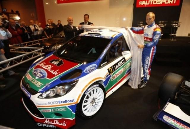 Ford prezinta culorile noului Fiesta WRC 2011