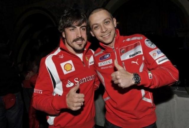 Alonso si Rossi, fata in fata in decembrie 2011?