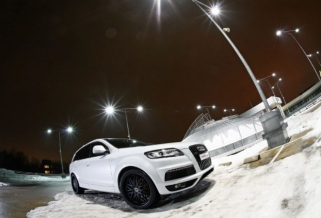 Audi Q7 V8 TDI tunat de MR Car Design