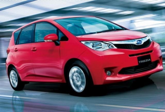 Subaru Trezia va fi prezentat la Geneva 2011