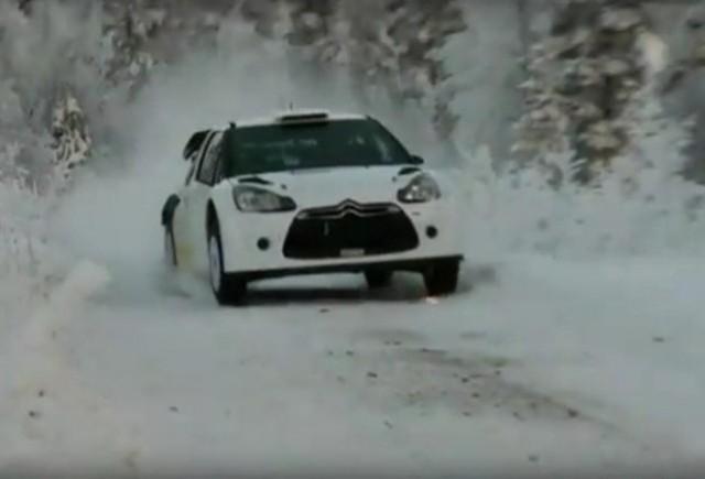 VIDEO: Noul Citroen DS3 WRC in actiune!