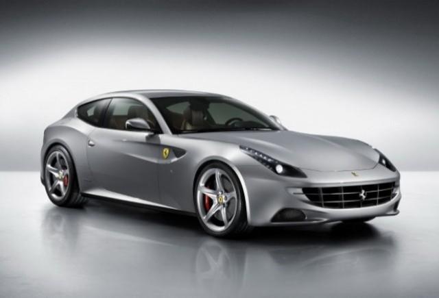 Noi imagini cu modelul Ferrari FF