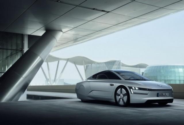 Noul Volkswagen XL1 se prezinta