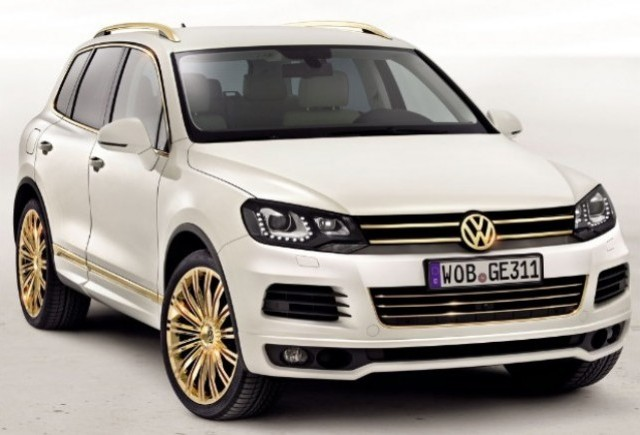 Volkswagen Touareg Gold Edition, SUV-ul de 24 de karate