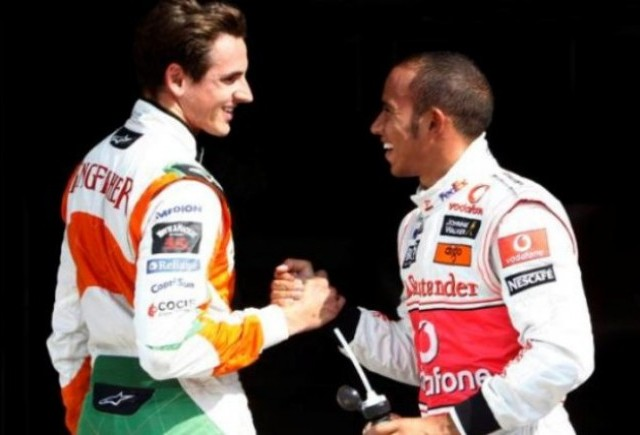 Sutil il vede pe Hamilton campion mondial