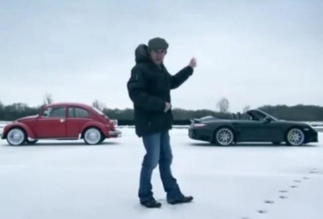 VIDEO: Top Gear compara noul Porsche 911 cu un Beettle