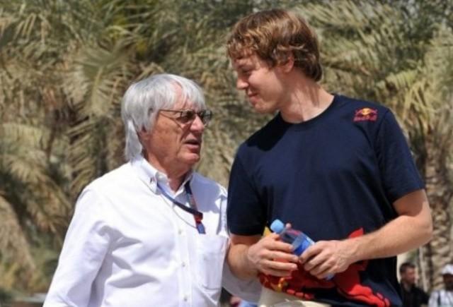 Ecclestone si l-ar dori pe Vettel ca ginere