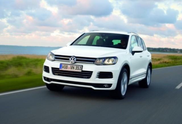 Volkswagen Touareg primeste un nou pachet R-Line