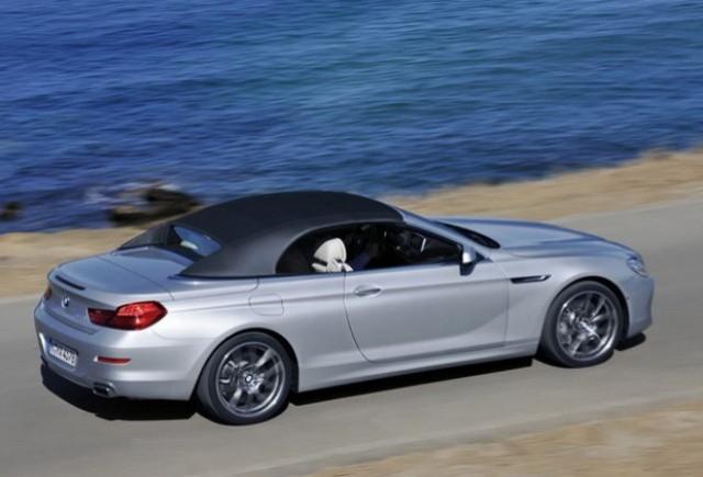 BMW Seria 6 Cabriolet, de la 72.050 Euro fara TVA, acum si in Romania