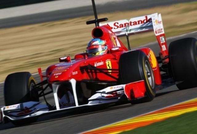 Alonso. cel mai rapid in ziua a doua la Valencia