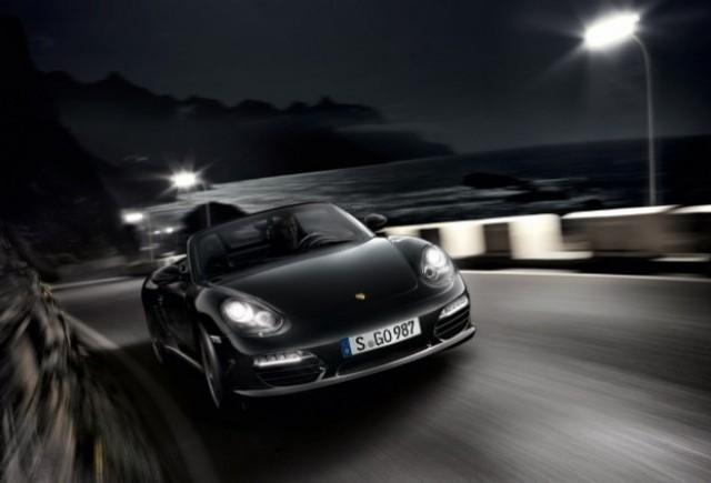 Iata noul Porsche Boxter S Black Edition!
