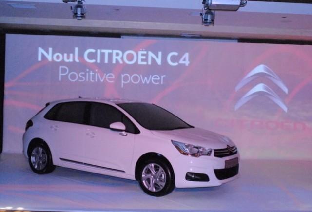 VIDEO: Lansarea Noului Citroen C4