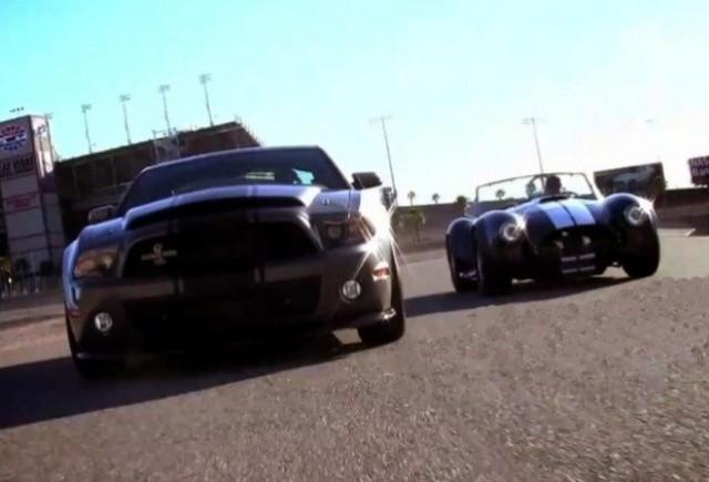 VIDEO: Shelby Cobra vs Ford Mustang Super Snake
