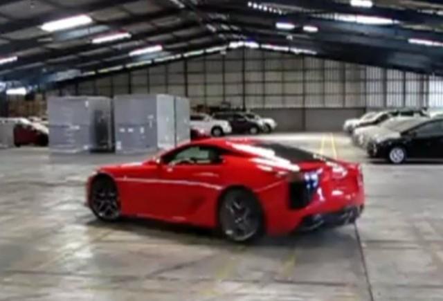 VIDEO: Asa se marcheaza achizitia unui Lexus LF-A!