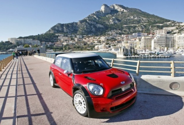 Noul Mini Countryman WRC a debutat la Monte Carlo