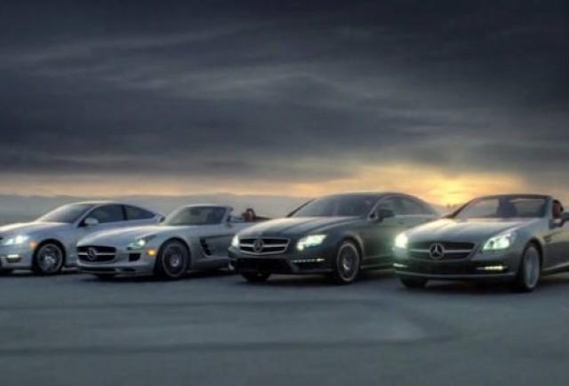 VIDEO: Mercedes aniverseaza 125 de ani de calitate premium
