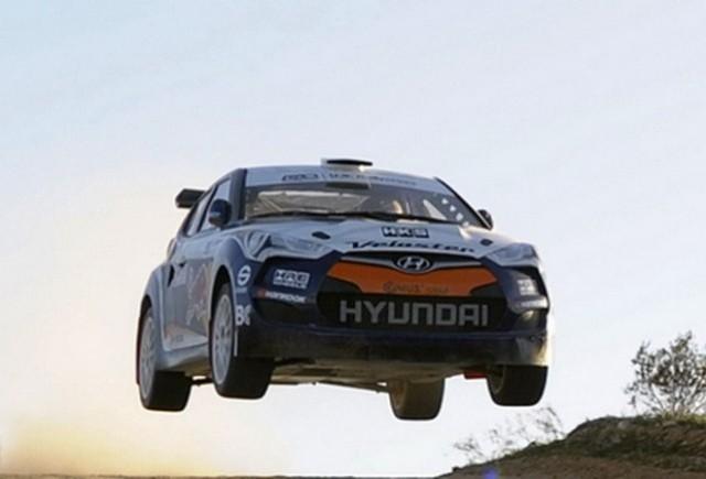 Hyundai prezinta Veloster Rally Car