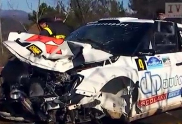 VIDEO: Accidentul lui Robert Kubica