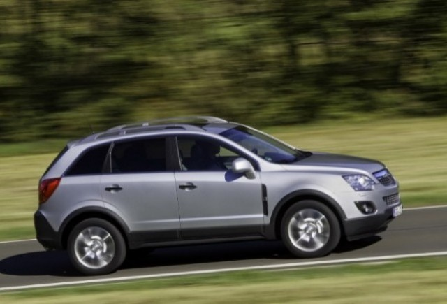 GALERIE FOTO: Noul Opel Antara prezentat in detaliu
