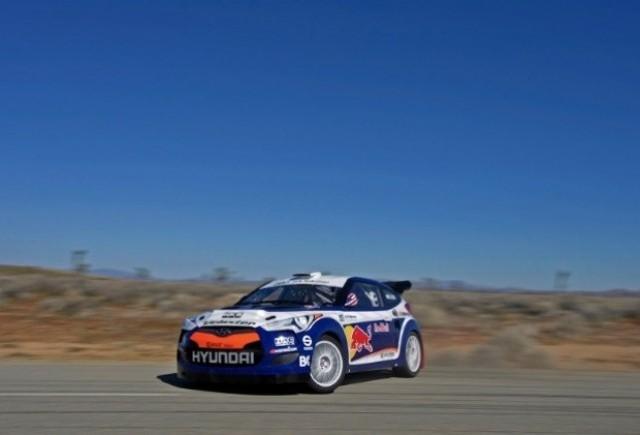 OFICIAL: Noul Hyundai Veloster Rally Car debuteaza la Chicago
