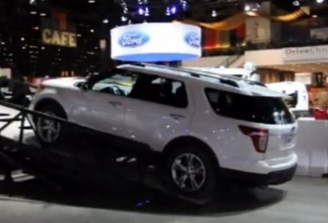 VIDEO: Noul Ford Explorer la Salonul Auto de la Chicago