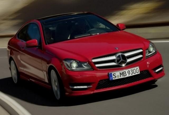 Noi imagini oficiale cu modelul Mercedes C-Klasse Coupe