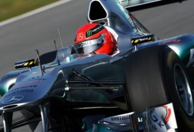 Schumi: Noul Mercedes progreseaza