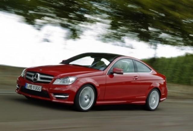GALERIE FOTO: Noul Mercedes C-Klasse Coupe prezentat in detaliu