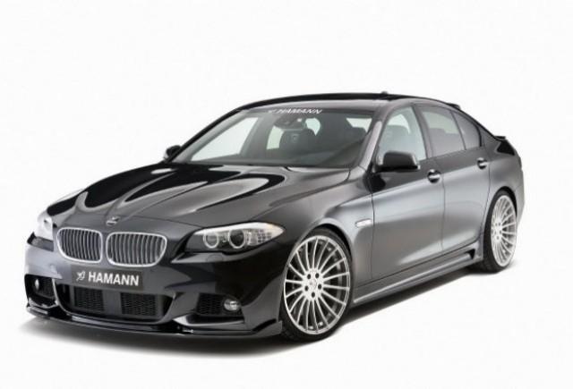 BMW Seria 5 M Sport Package tunat de Hamann