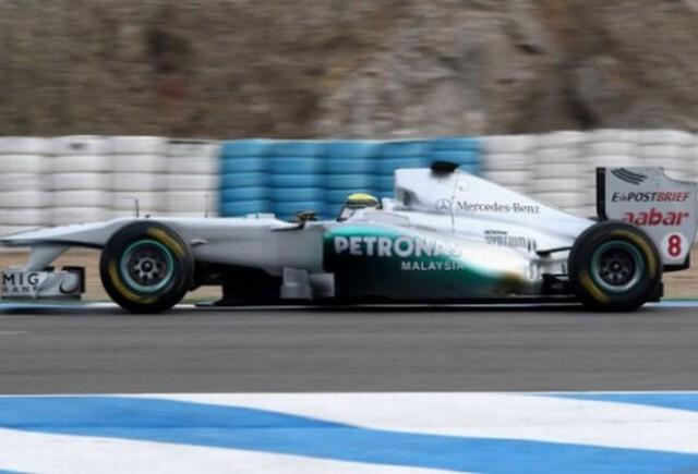 Rosberg: Am alergat prea putin