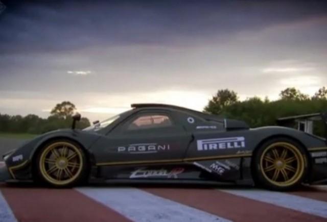 VIDEO: Top Gear prezinta evolutia modelului Pagani Zonda